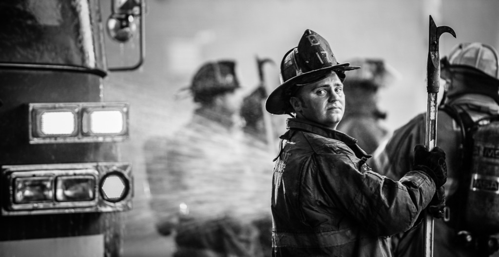 detroit firefighter at detroit in portraits