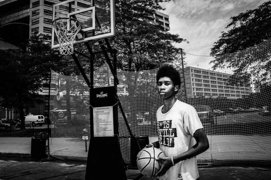 Portrait of a Basketball Superstar - Detroit Portraiture