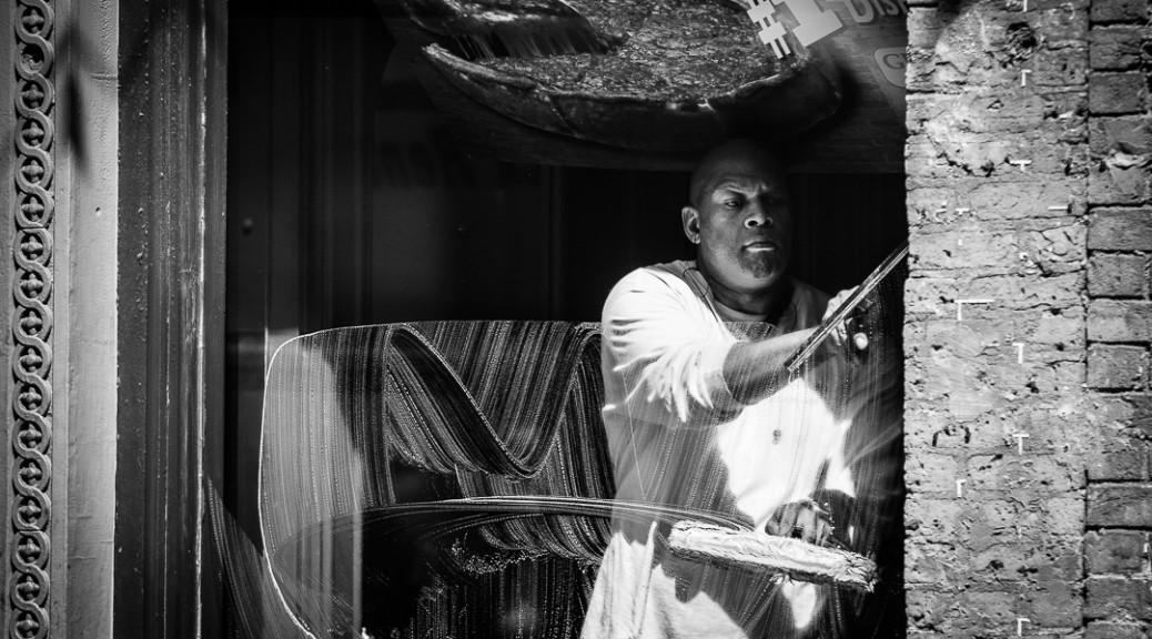 Portrait of a window washer in Detroit - Detroit Portraiture