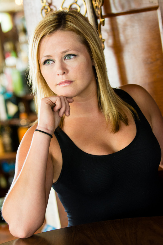 Portrait of Town Pump bartender Lindsay by Detroit Portraiture
